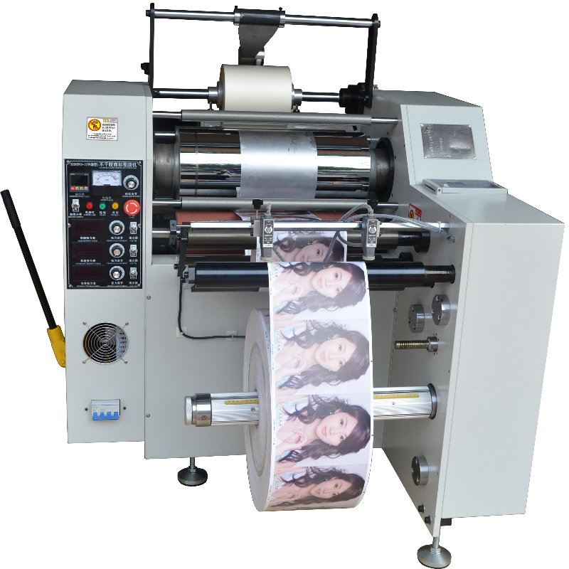 XHM500A-J Roll-to-roll label laminating machine